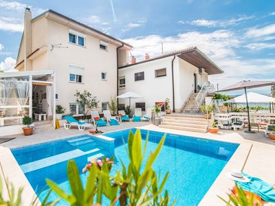 Photo for Apartment Complex Suzy with Common Pool in Novi Vinodolski / Rustical furnished apartment Suzy Konoba in a quiet Suburb near the Beach