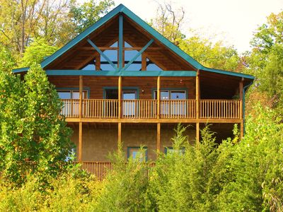 Photo for **GREAT VIEWS! PRIVATE POND! 3 MI FROM DOLLYWOOD! DISCOUNTS FOR LONGER STAYS!**