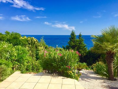 Photo for Ecrin of greenery and beautiful sea view
