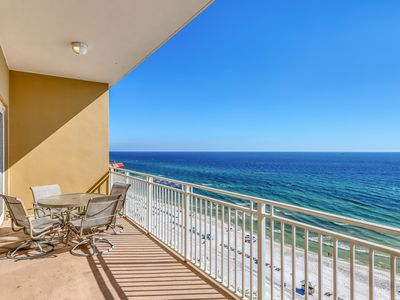 Photo for Spacious Beachfront Condo with Workout Room Access