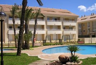 Photo for Javea apartment, Golden Beach. Close to beach. Ideal for families. Wifi & pool.