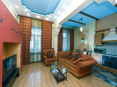 Photo for Two-room. Luxe. 5a Baseina str. Centre of Kiev - Studio Apartment, Sleeps 4