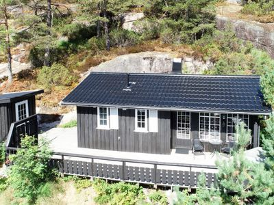Photo for Vacation home Evabu (SOW069) in Eikerapen - 4 persons, 2 bedrooms