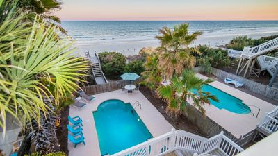 Oceanfront Prvt Heated Pool On The