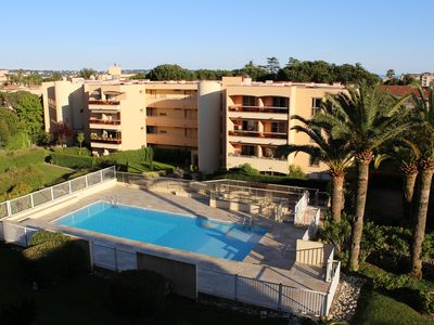 Photo for Studio 3 pers. Golfe Juan residence with swimming pool between Cannes and Juan les Pins
