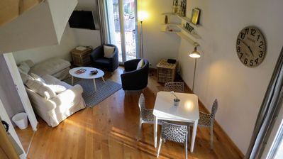 Photo for Cozy loft with view of Place Albert premiere