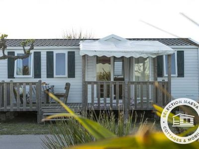 Photo for Camping La Marine **** - Maeva Camping - Mobil-home Cozy Plus 3 Rooms 6 people conditioning