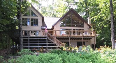 Photo for Stunning Adirondack Lakefront Property