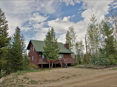 Photo for *COVID SafeHome* Cozy Cabin Close to Town, Fenced in Yard with Firepit
