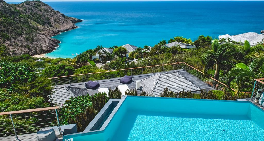 Best Island Beaches For Partying Mykonos St Barts: Luxury Hilltop Villa In St Barts With Pool ...