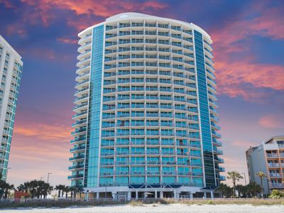 Photo for Oceans One 402; 3 bedroom, 3 bath, Ocean Front, Family Kingdom area of MB