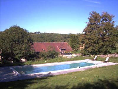 Photo for GREAT HOUSE, LARGE POOL TO ROUQUETTE