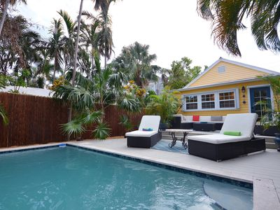 Photo for Dog-friendly home w/ private pool offers fantastic location in central Key West