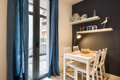 Cute dining area, perfect to enjoy your favourite Catalan food