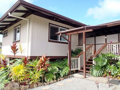 Photo for Hilo - Lopaka's Family Lodge - Hilo  Walk to Boiling Pots