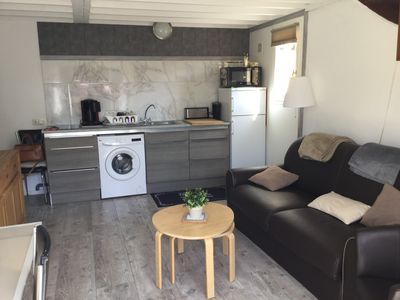 Photo for Lower Normandy Cabourg cottage 2ch + 2wc + wifi 500m from the sea + garden 150m2