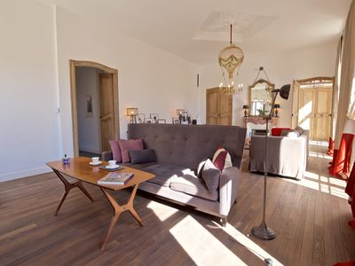 Photo for Luxury apartment in the heart of Apt, at walking distance to all shops