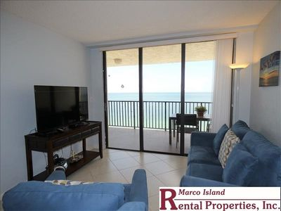 Photo for Sea Winds 1105: An amazing view from this Beachfront Condo!, 2 Full Bathrooms