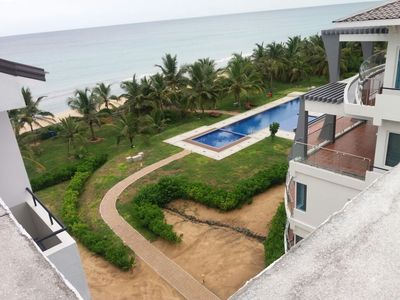 Photo for 3 Bed rooms Super luxury apartment on Nilaveli beach