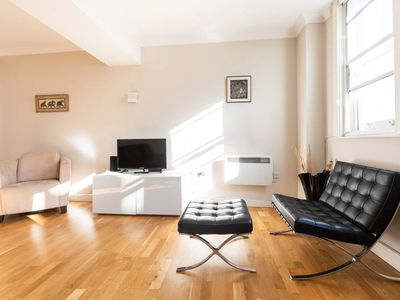 Photo for Spacious two bedroom apartment in South Kensington