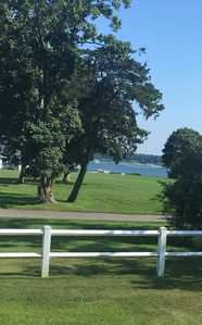Views to Shelter Island.