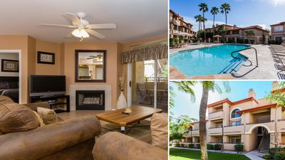 Photo for Elegant & CLEAN Pointe Condo4, Mtn Views, Lush Grounds, Pools ALWAYS Open/Heated