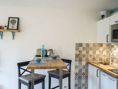 Photo for Cosy apartment for 3 people with WIFI, TV and parking