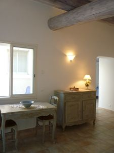 Photo for Appartem. air-conditioned 60 m² at the foot of the Luberon & breathtaking view of the well-kept garden