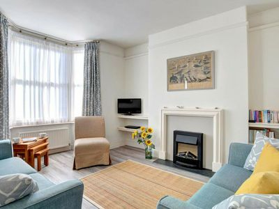 Photo for Lovely holiday home in Padstow with two open fireplaces and a pleasant garden