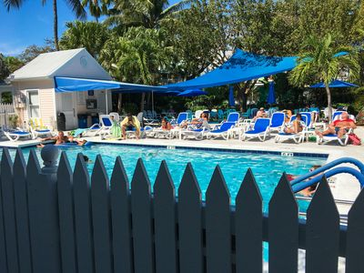 Pool - Soak up some sun in loungers by the shared pool.