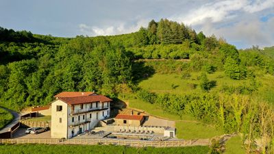 Villa Bracchi with 6 acres and swimming pool