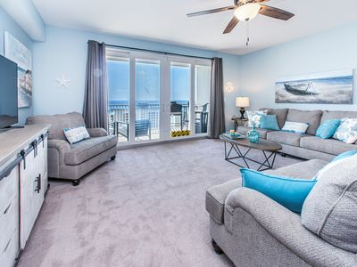 Photo for ☀Laketown Wharf 1403-1BR+Bunks☀Gulf Views! Oct 13 to 15 $522 Total! 225ft to Bch