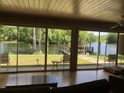 Photo for Enjoy peace and tranquility on the Withlacoochee river with breathtaking views.
