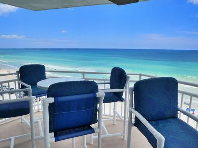 Photo for Popular White Surf Daytona Condo, Remodeled Penthouse Direct Beach/Ocean Front