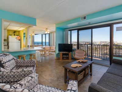 Photo for Walk to beach from condo w/ beach views & shared pool access (fee applies)!