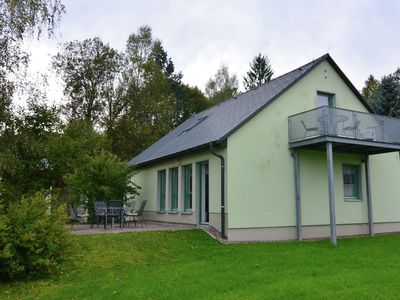 Photo for Detached holiday home in Saxony with gorgeous view