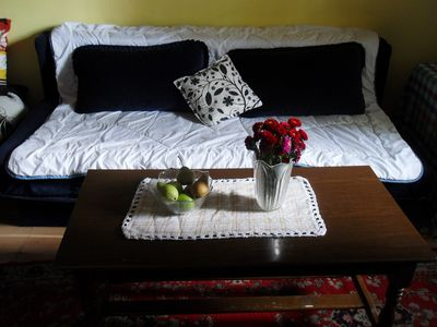 Photo for Budget city center flat with the garden