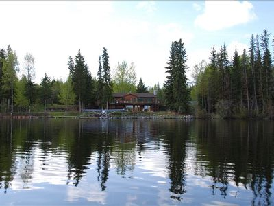 Fly In or Drive to this Horse Lake Vacation Home in the Cariboo Region of B. C.