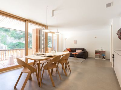 Photo for Flims Apartment, Sleeps 4 with WiFi