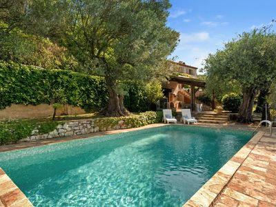 Photo for Splendid 4 bedroom Villa in Châteauneuf-Grasse (Q0492)