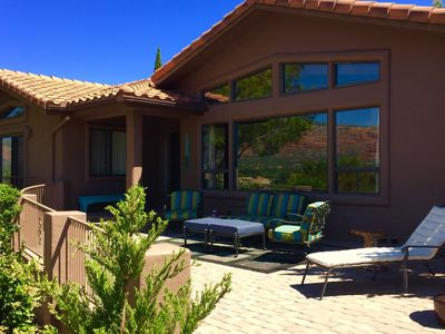 Photo for The Village Retreat - View Home, Relaxing & Pet Friendly