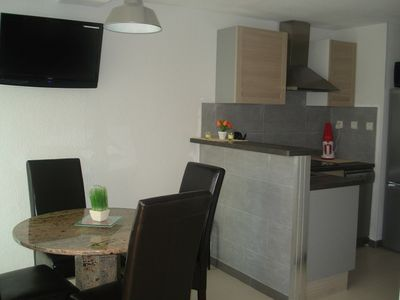 Photo for Apartment T2 4/6 people with swimming pool and garden