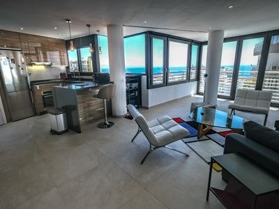 Photo for Loft with seaview and pool in Torremolinos center