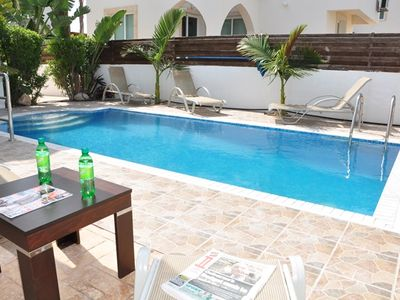 Photo for Stunning 3 Bed Villa-Private Pool, WIFI, mins to the beach & amenities