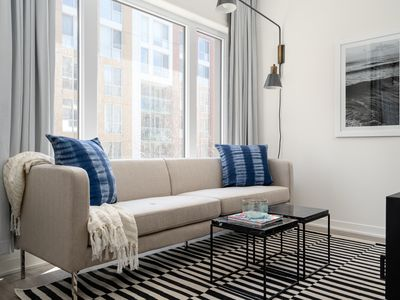 Photo for Posh 1BR in Quartier des Spectacles by Sonder