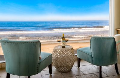 Photo for Stunning Oceanfront Vacation Rental in Carlsbad, CA Designer Decorated w/ AC
