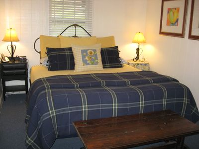 Relax on the comfortable KING size bed.