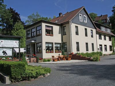 Photo for Cosy apartment on the 2nd floor of a guest house in the Harz with private balcony