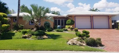Photo for Waterfront home, one block from FLL beach