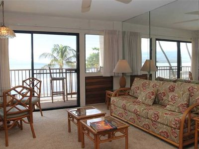 Photo for HK-B7 - Maui Oceanfront Condo on the Serene Beach of Ma'alaea Bay has Spectacular Ocean View